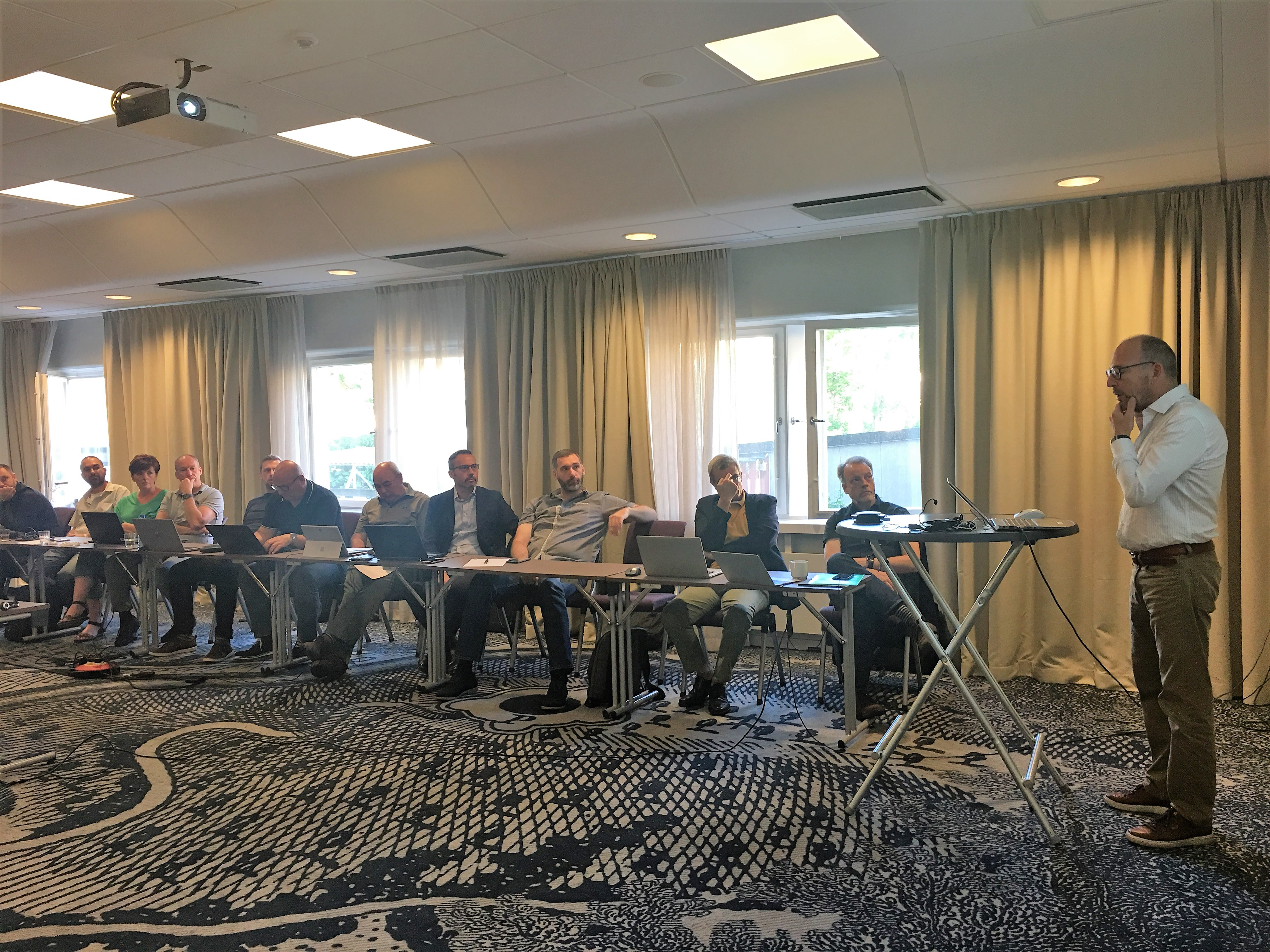 Plenary meeting  in Linköping, hosted by