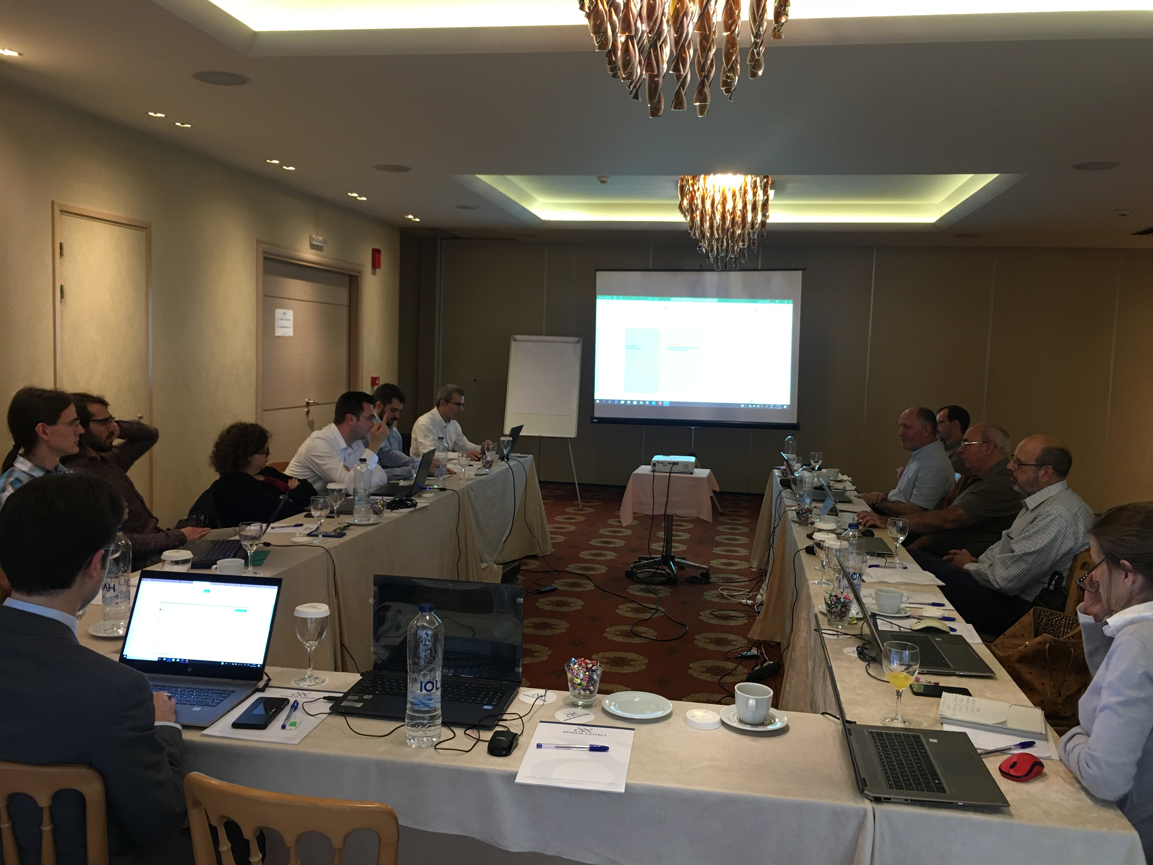 Technical Meeting in Athens